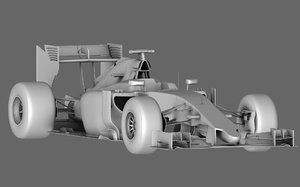 sauber c34 season 2015 3D model