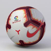 soccer ball nike 3D