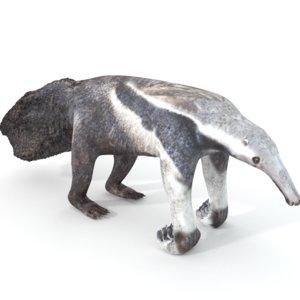 ant anteater 3D