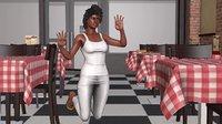 3D humain female model