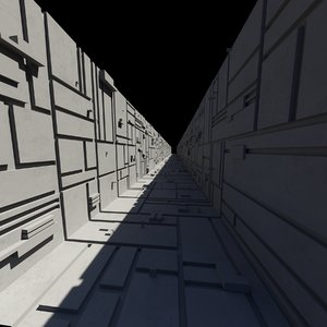 space station trench model