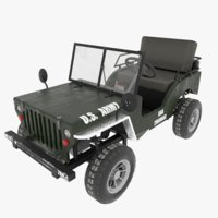 Go Kart Willys Jeep