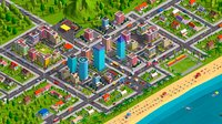 3D model cartoon city buildings