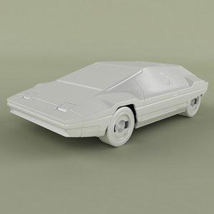 3D lancia sibilo print model