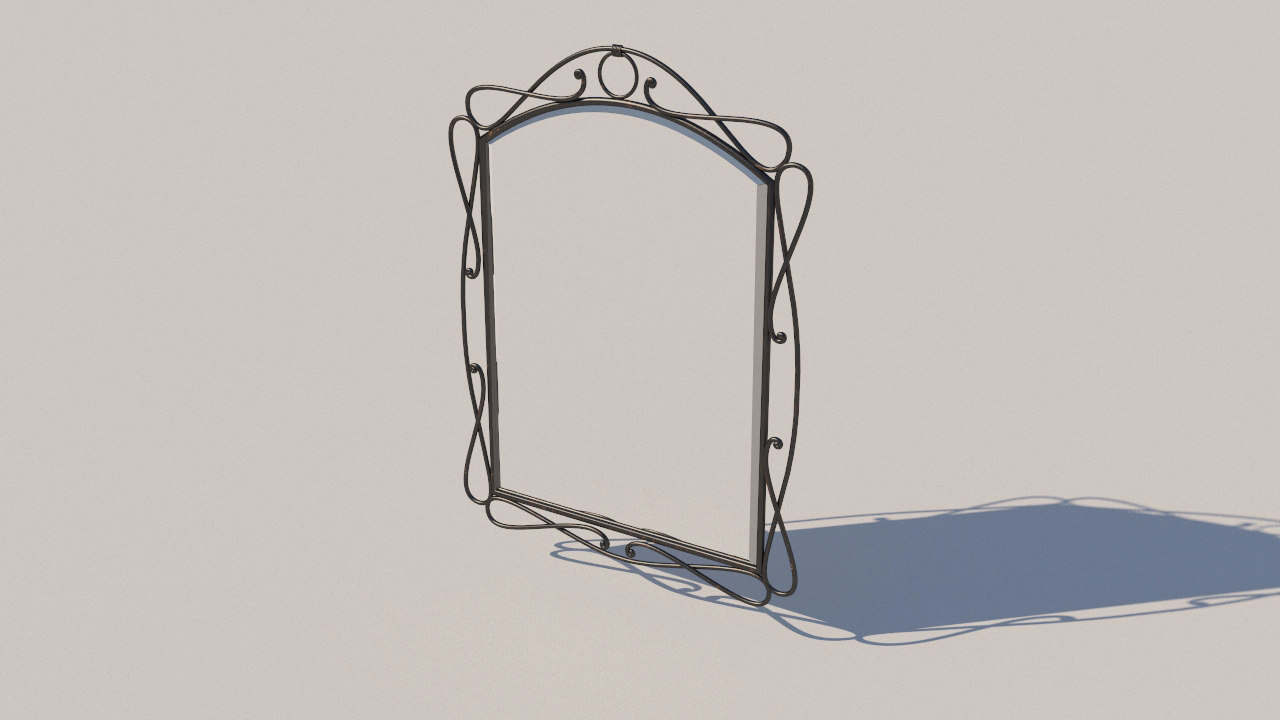 3D forged mirror model