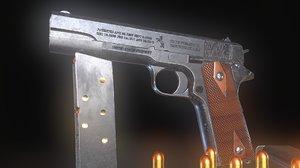 colt m1911 3D