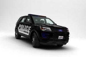 explorer police 3D