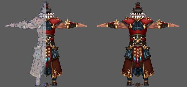 3D model character kingdom