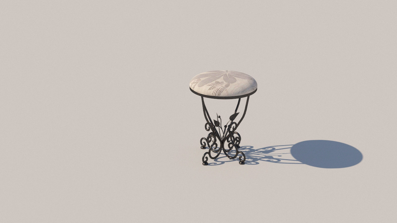 forged stool model