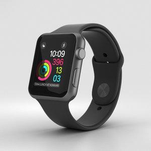 3D apple watch sport model