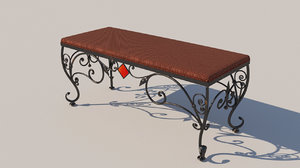 forged banquet 3D model