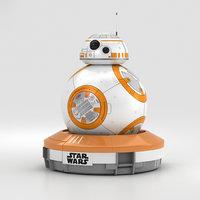 3D sphero bb-8 bb model