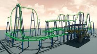 Roller Coaster UE4 Unity