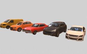 set cars 3D