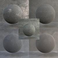 3D scene file concrete model