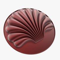 3D mold shell