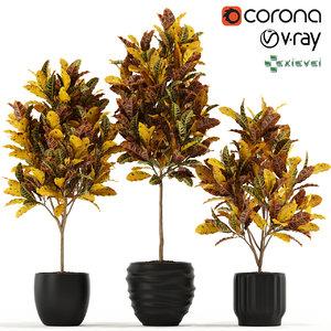 plants 120 growfx 3D model