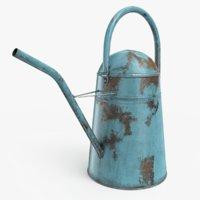 3D vintage watering