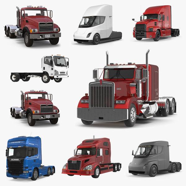 trucks 3 3D