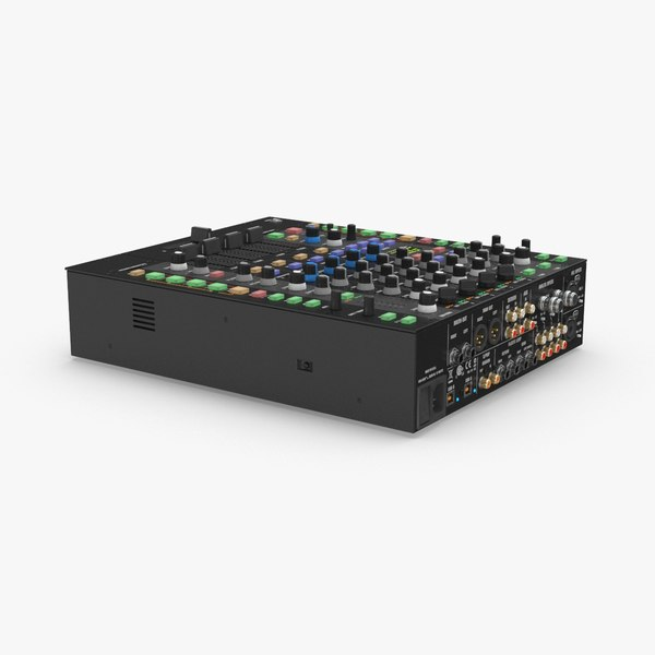 4-channel-mixer 3D