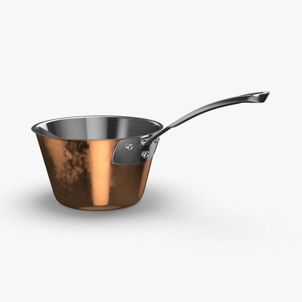 3D model kitchen-pan-rack-02---pan-06
