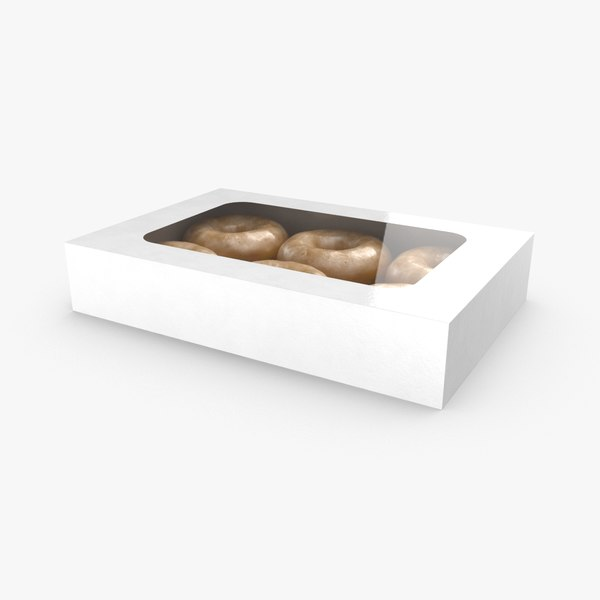 packaged-donuts 3D model