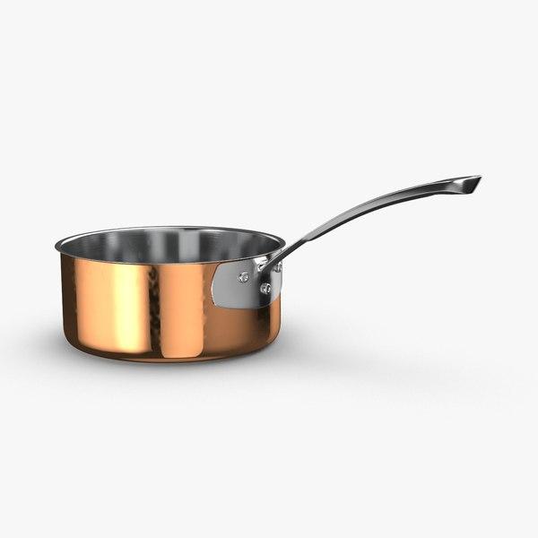 kitchen-pan-rack-02---pan-07 3D