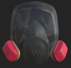 3D mask breaking bad