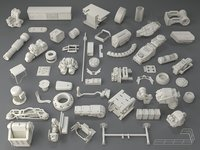 kit bashes - 54 3D