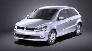 3D volkswagen gol 2013 model