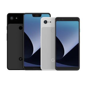 google pixel 3 3xl 3D model