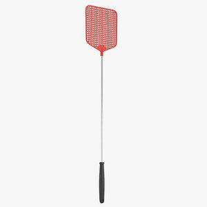 3D fly swatter model