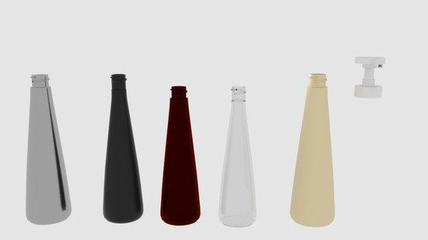 bottle spray tank 3D model