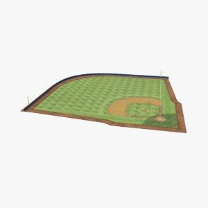 3D baseball-field