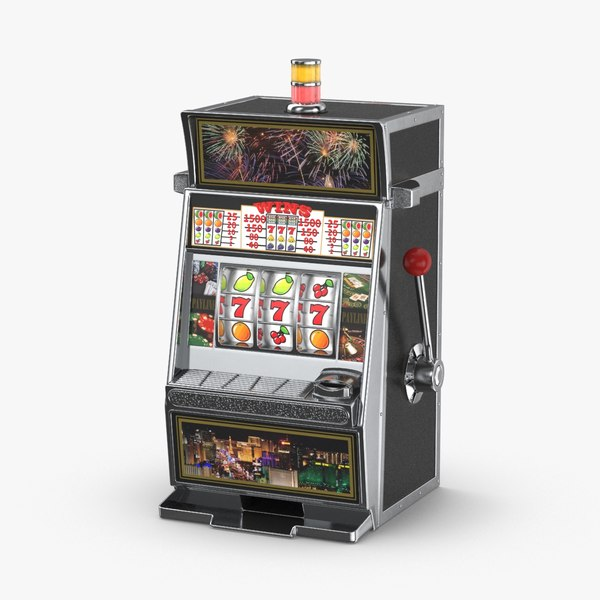 slot-machine---tripple-7s 3D model