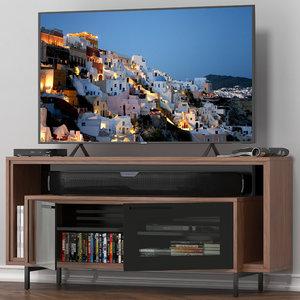 cavo media cabinet 8168 3D model