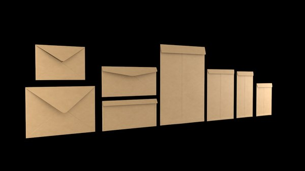 size envelopes 3D model
