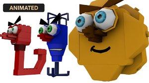 3D lego set