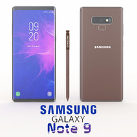 samsung galaxy note 9 3D model