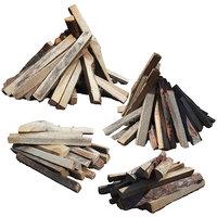 Ultra realistic Firewood Scan