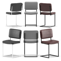 3D leather chairs