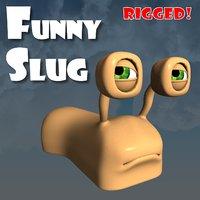 3D slug funny