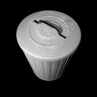 trashbin bin 3D model