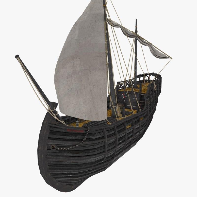 ship notorious 3D model