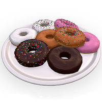 donut photo realistic vr 3D model
