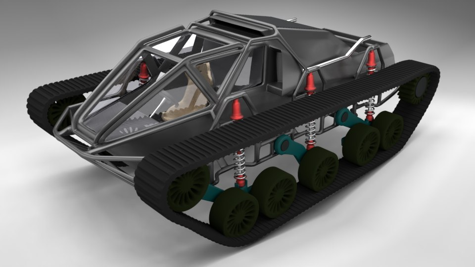 3D tank luxury