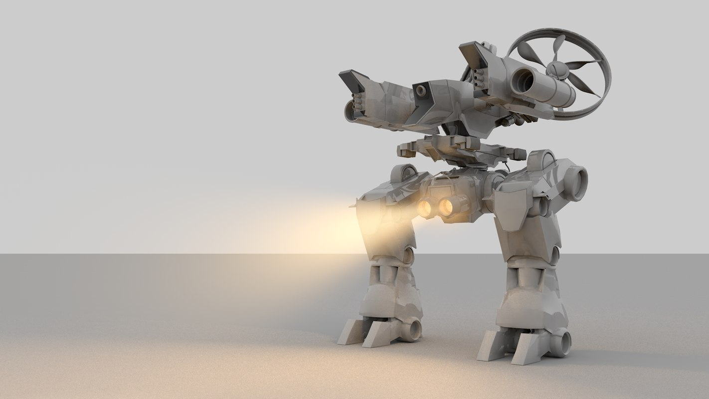 advanced robot model