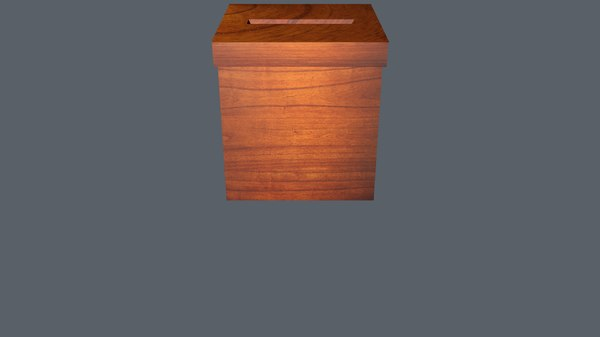 3D election chest