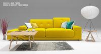 3D polder sofa