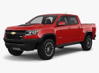 chevrolet colorado zr2 2018 3D model
